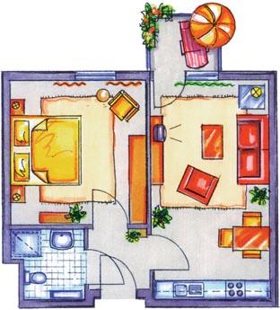 wohnstift kralenriede wohnen typ b seniorenresidenz seniorenheim und pflegeheim f r. Black Bedroom Furniture Sets. Home Design Ideas